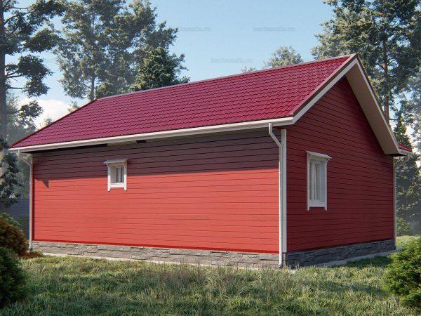 Проект каркасного зимнего дома 10х8.5 для строительства под ключ