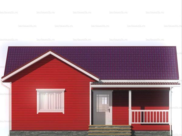 Дом для проживания с тремя комнатами 10х8.5 фото 3