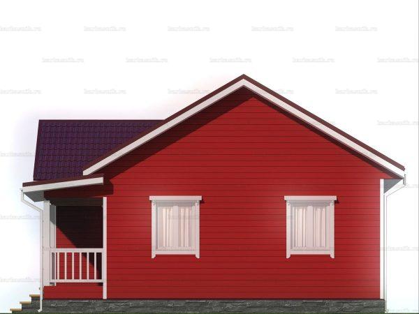Дом для проживания с тремя комнатами 10х8.5 фото 6