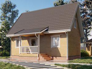 Частный дом 9х6