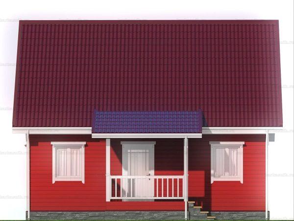 Дом для проживания с туалетом 6х9 фото 3
