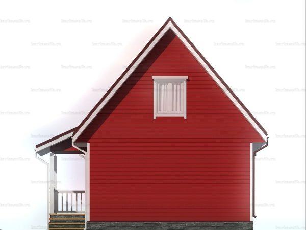 Дом для проживания с туалетом 6х9 фото 6