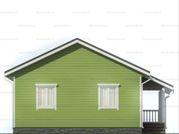 Дом для проживания с санузлом 9х7.5 фото 3