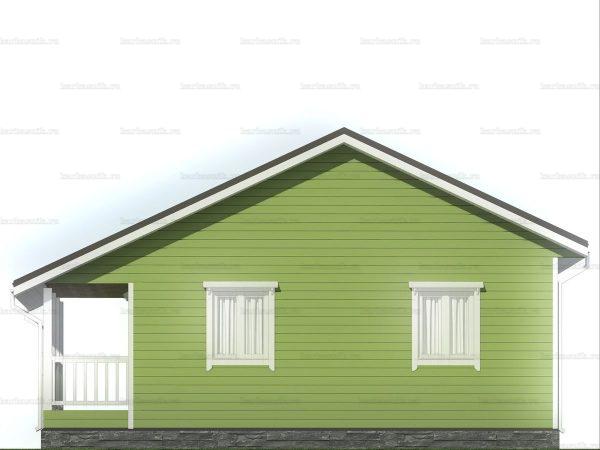Дом для проживания с санузлом 9х7.5 фото 5