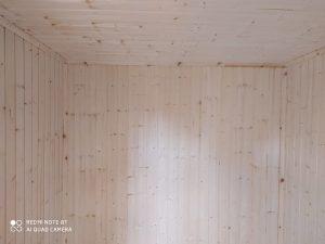 Готовый объект – баня из бруса 4х6 под ключ (фото 12.)