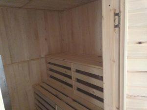 Баня 6х6 из бруса в СНТ Рябинки (фото 21.)