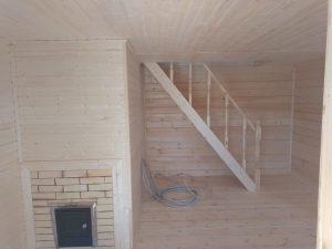 Баня 6х6 из бруса в СНТ Рябинки (фото 23.)