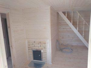 Баня 6х6 из бруса в СНТ Рябинки (фото 25.)