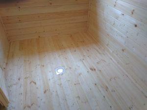 Баня 6х6 из бруса в СНТ Рябинки (фото 26.)