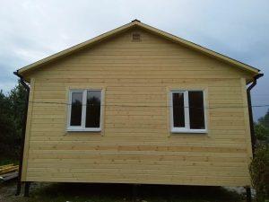 Каркасный дом 6х9 в деревне Федурново (фото 2.)