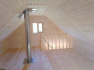 Баня 6х6 из бруса в СНТ Рябинки (фото 28.)