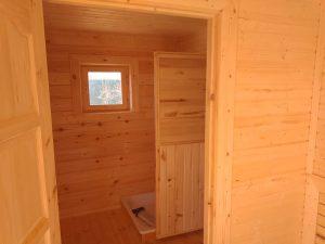 Баня 6х6 из бруса в СНТ Рябинки (фото 31.)