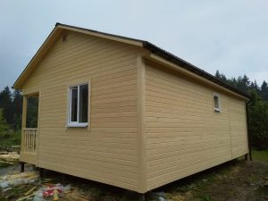 Каркасный дом 6х9 в деревне Федурново (фото 4.)