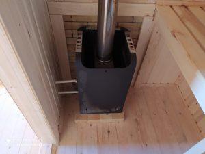 Готовый объект – баня из бруса 4х6 под ключ (фото 5.)
