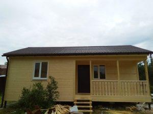Каркасный дом 6х9 в деревне Федурново (фото 7.)