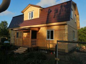 Готовый объект – дом из бруса 7х11 под ключ (фото 3.)