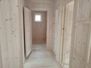 Готовый объект – каркасный дом 8х6 под ключ (фото 9.)