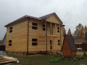 Готовый объект – дом из бруса 10х9 без отделки (фото 9.)