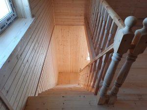 Готовый объект – каркасный дом 8х8 под ключ (фото 8.)