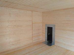 Готовый объект – каркасная баня 6х8 под ключ (фото 9.)
