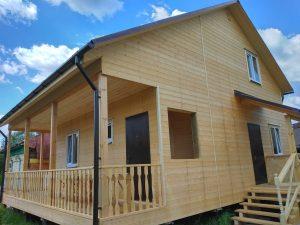 Готовый объект – дом из бруса 10х8 под ключ (фото 11.)