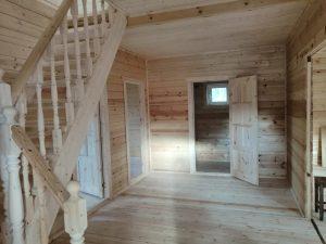 Готовый объект – дом из бруса 7х11 под ключ (фото 9.)