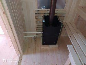 Готовый объект – баня из бруса 4х6 под ключ (фото 11.)