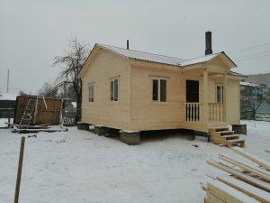 Готовый объект – каркасный дом 8х6 под ключ (фото 11.)