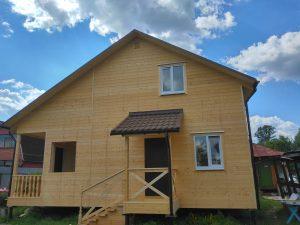 Готовый объект – дом из бруса 10х8 под ключ (фото 12.)