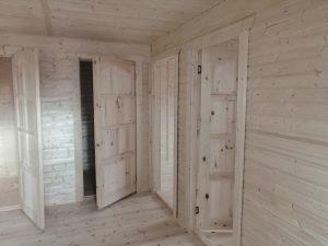 Готовый объект – дом из бруса 7х11 под ключ (фото 12.)