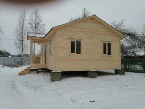 Готовый объект – каркасный дом 8х6 под ключ (фото 2.)