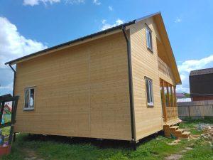 Готовый объект – дом из бруса 10х8 под ключ (фото 3.)