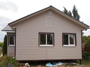 Готовый объект – каркасный дом 6х9 под ключ (фото 2.)