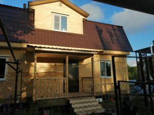 Готовый объект – дом из бруса 7х11 под ключ (фото 2.)