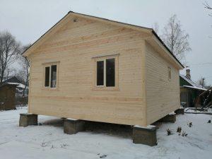 Готовый объект – каркасный дом 8х6 под ключ (фото 3.)