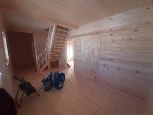Готовый объект – дом из бруса 8х8 под ключ (фото 3.)