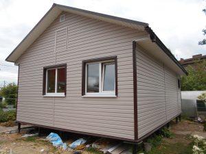Готовый объект – каркасный дом 6х9 под ключ (фото 3.)