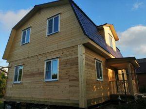 Готовый объект – дом из бруса 7х11 под ключ (фото 4.)