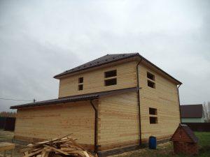 Готовый объект – дом из бруса 10х9 без отделки (фото 3.)