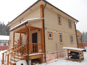Готовый объект – дом из бруса 10х9 под ключ (фото 3.)