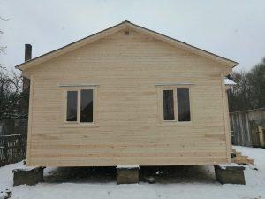 Готовый объект – каркасный дом 8х6 под ключ (фото 4.)