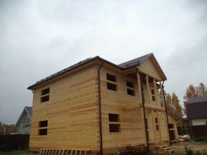 Готовый объект – дом из бруса 10х9 без отделки (фото 4.)