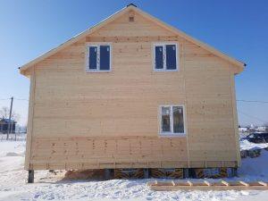 Готовый объект – каркасный дом 8х8 под ключ (фото 3.)