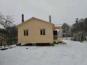 Готовый объект – каркасный дом 8х6 под ключ (фото 5.)