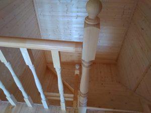 Готовый объект – дом из бруса 10х8 под ключ (фото 7.)