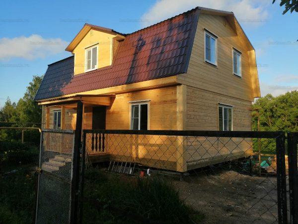 Дом из бруса 7х11 Домодедово