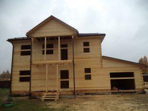 Готовый объект – дом из бруса 10х9 без отделки (фото 5.)