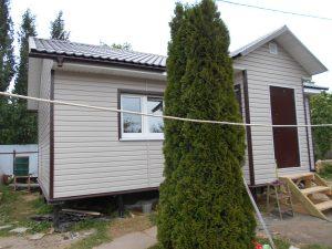 Готовый объект – каркасный дом 6х9 под ключ (фото 5.)