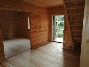 Готовый объект – дом из бруса 7х11 под ключ (фото 6.)