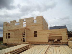 Готовый объект – дом из бруса 10х9 без отделки (фото 6.)